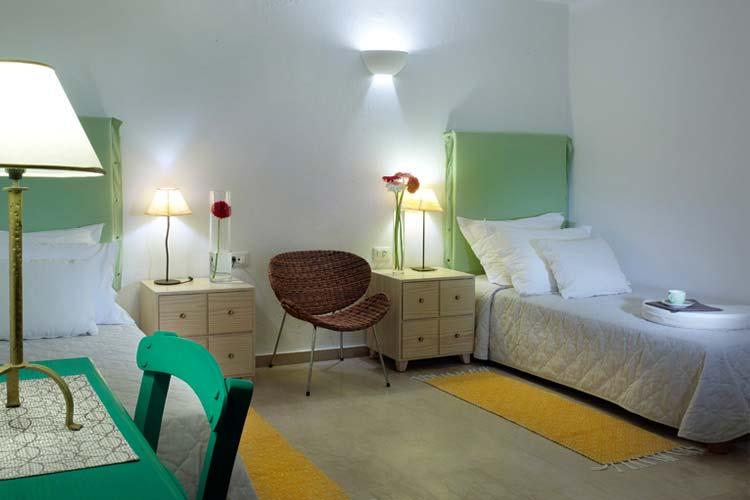 Ground Floor Bedroom - Thalassa Villas - Agios Nikolaos