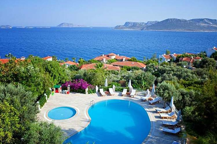 Swimming Pool - Olea Nova Hotel - Kas