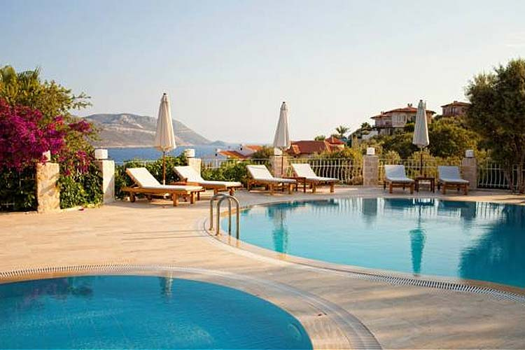 Swimming Pool Terrace - Olea Nova Hotel - Kas