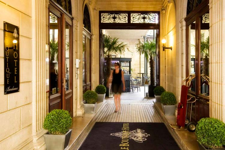 Le boutique hotel bordeaux a boutique hotel in bordeaux for Great boutique hotels