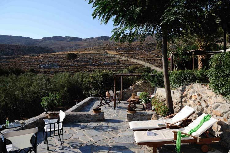 Terrace - Yiannis Retreat - Kato Zakros