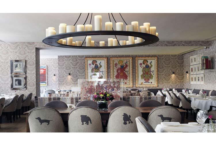 Restaurant - Haymarket Hotel - Londres