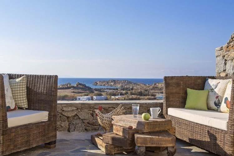 Private Veranda in all Units - Almyra Guest Houses - GREECE