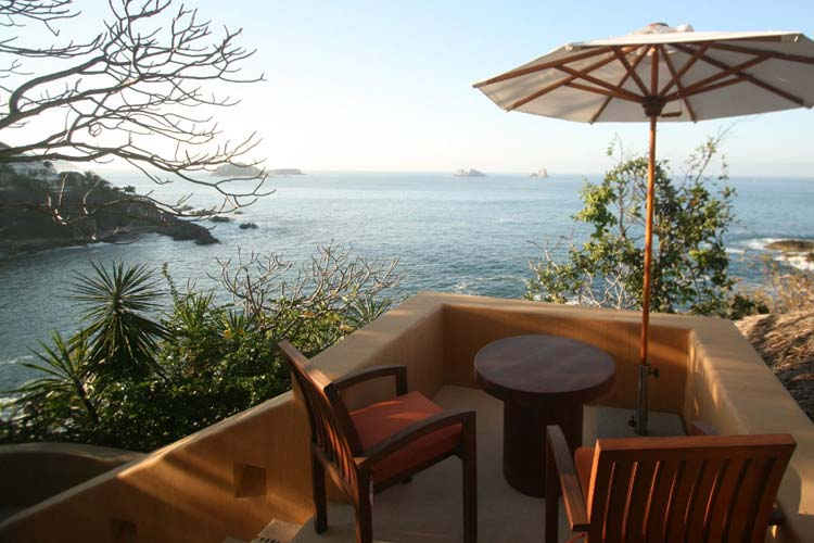 Private Terrace - Capella Itxtapa - Ixtapa