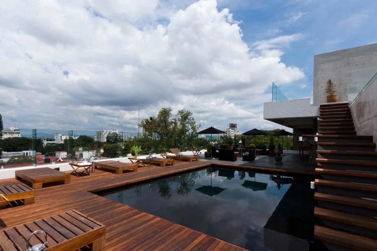 Rooftop Pool - Hotel Demetria - Guadalajara