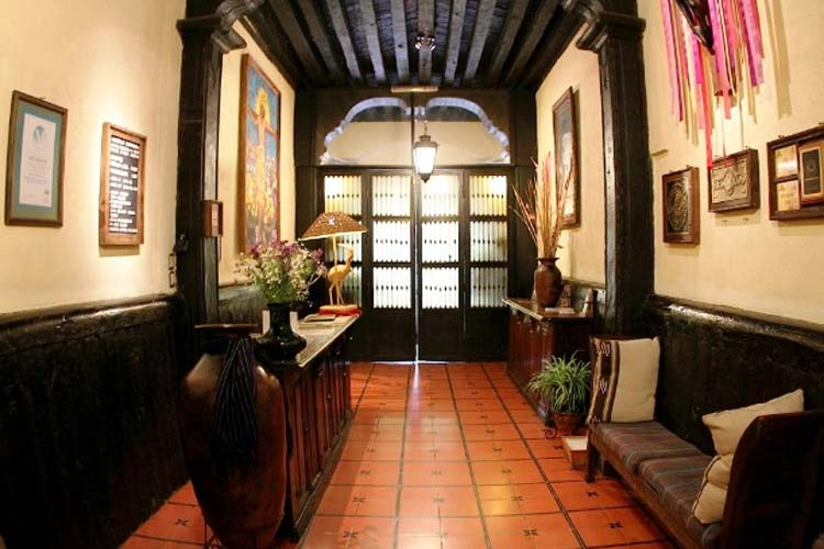 Reception - Hotel Mansión Iturbe - Pátzcuaro
