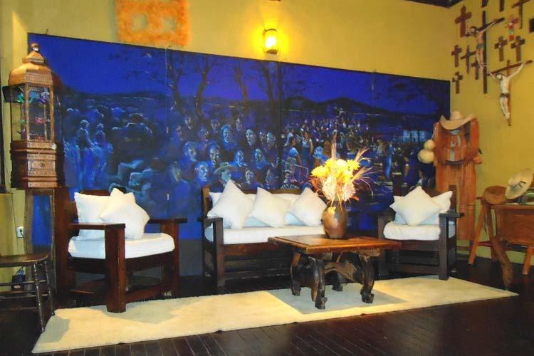 Lounge - Hotel Mansión Iturbe - Pátzcuaro