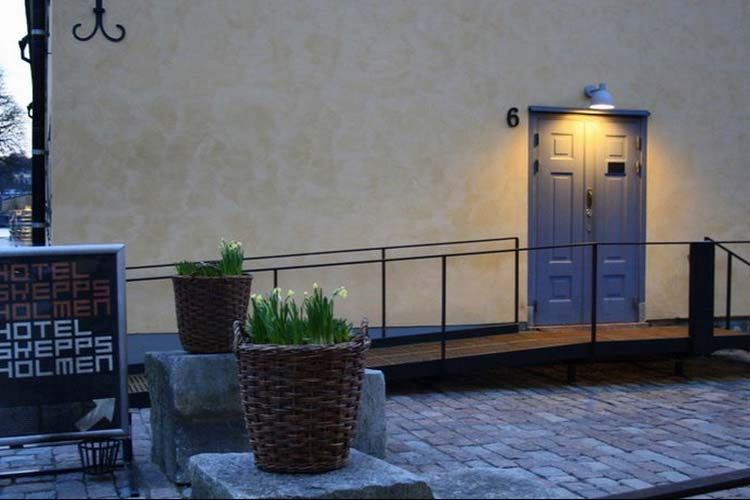Entrance - Hotel Skeppsholmen - Stockholm