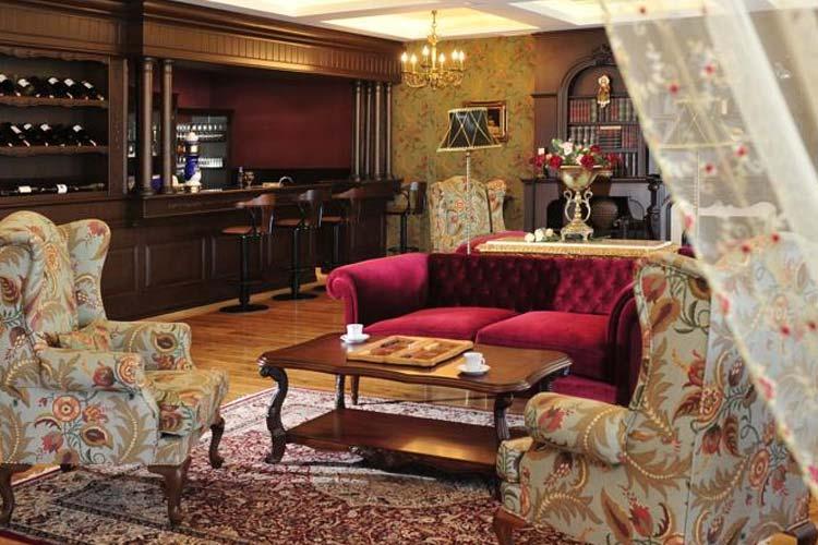 Lounge - Villa Augusto Hotel - Konakli