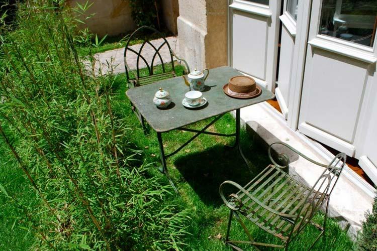 Terrace - L'Hotel Particulier Bordeaux - Burdeos