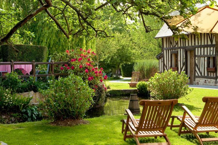 Auberge de la source a boutique hotel in normandy for Auberge le jardin de la source