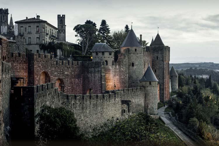 hotel cite de carcassonne un hotel boutique en carcasona. Black Bedroom Furniture Sets. Home Design Ideas
