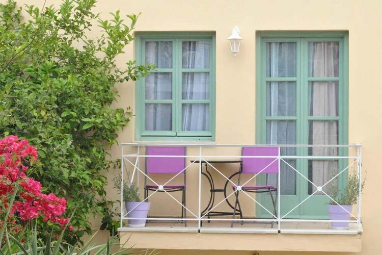 Balcony - Mythos Suites Hotel - Rethymno