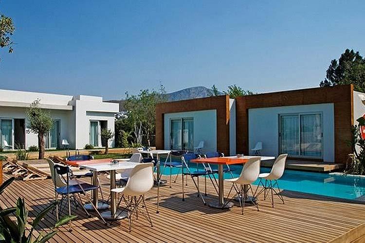 Terrace Deck - Yu Hotel - Göltürkbükü