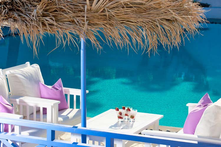 Pool - Acqua Vatos Hotel - Kamari