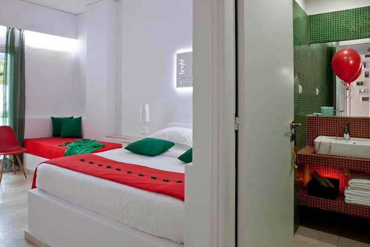 Standard Triple Room - Acqua Vatos Hotel - Kamari