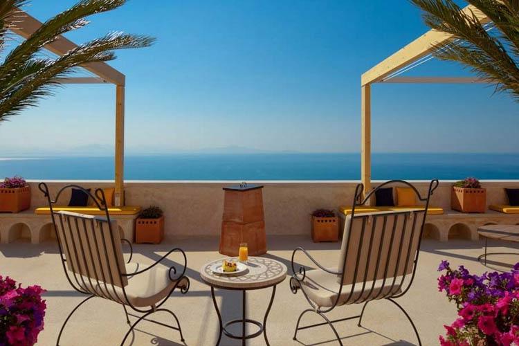 Terrace - Monastero Santa Rosa Hotel & Spa - Amalfiküste