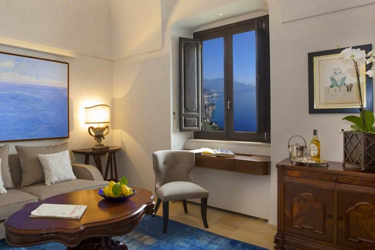 Deluxe Suites - Monastero Santa Rosa Hotel & Spa - Amalfiküste