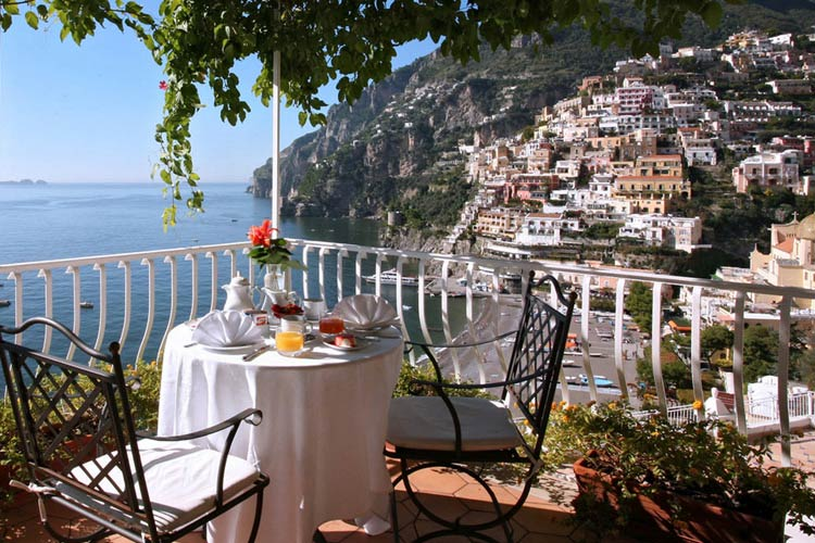 Terrace View - Hotel Marincanto - Costa Amalfitana