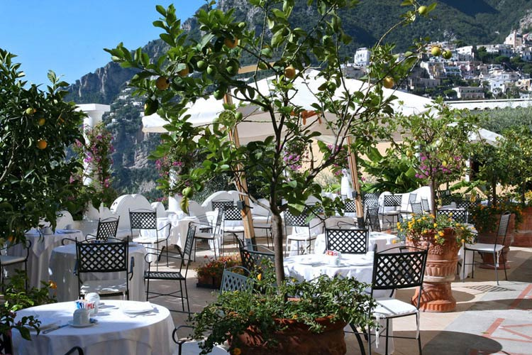 Restaurant - Hotel Marincanto - Amalfiküste