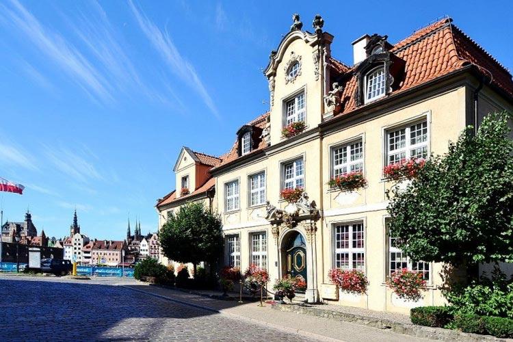 Facade - Hotel Podewils - Gdansk