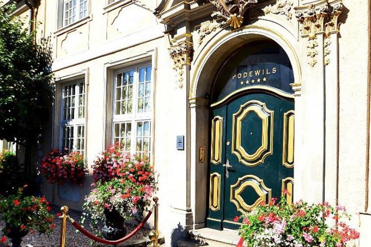 Front Door - Hotel Podewils - Gdansk