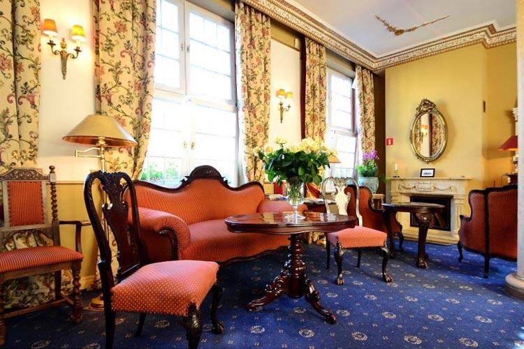 Living Room - Hotel Podewils - Gdansk