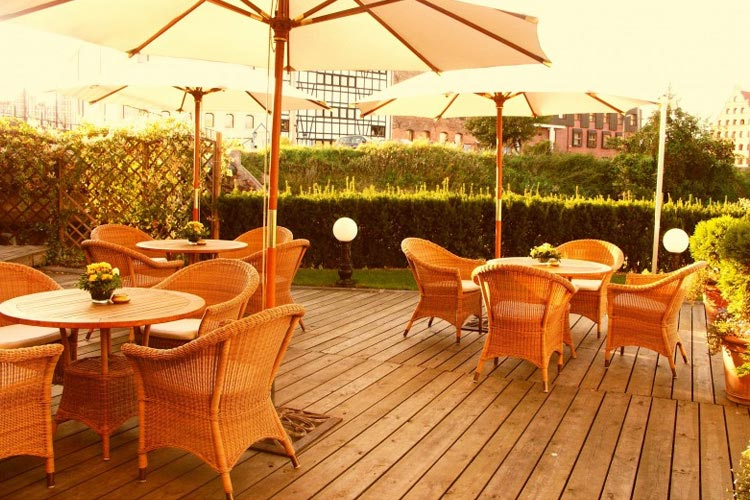Terrace - Hotel Podewils - Gdansk