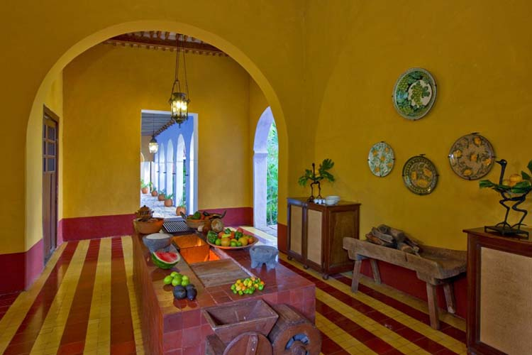 The hacienda santa rosa a boutique hotel in yucat n for Design hotel yucatan
