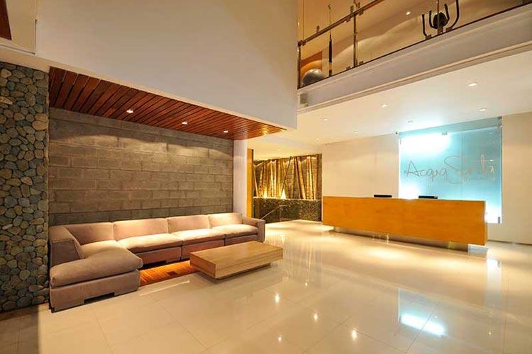 Reception - AcquaSanta Lofts Hotel - Cali