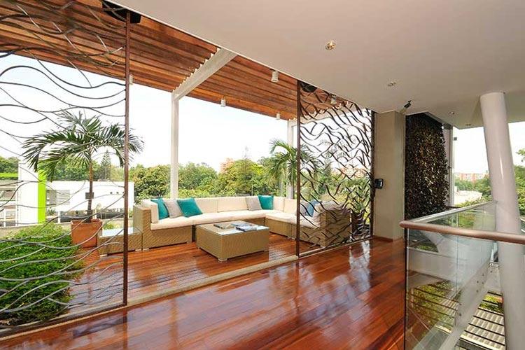 Terrace - AcquaSanta Lofts Hotel - Cali