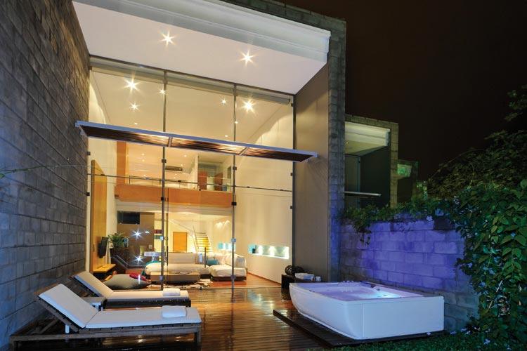 Loft Terrace - AcquaSanta Lofts Hotel - Cali