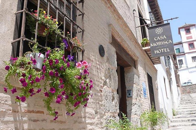 Front Door - Hotel Casa Morisca - Grenade
