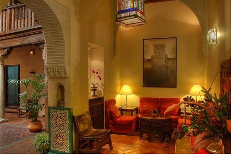 Living Room - Hotel Casa Morisca - Grenade