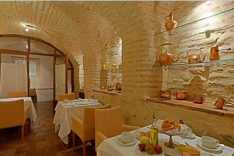 Dining Room - Hotel Casa Morisca - Grenade