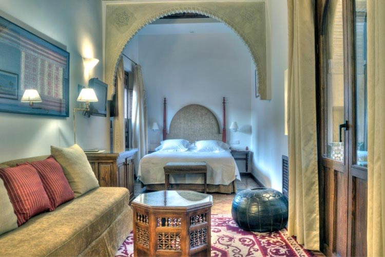 Double Bed with Sitting Room - Hotel Casa Morisca - Grenade