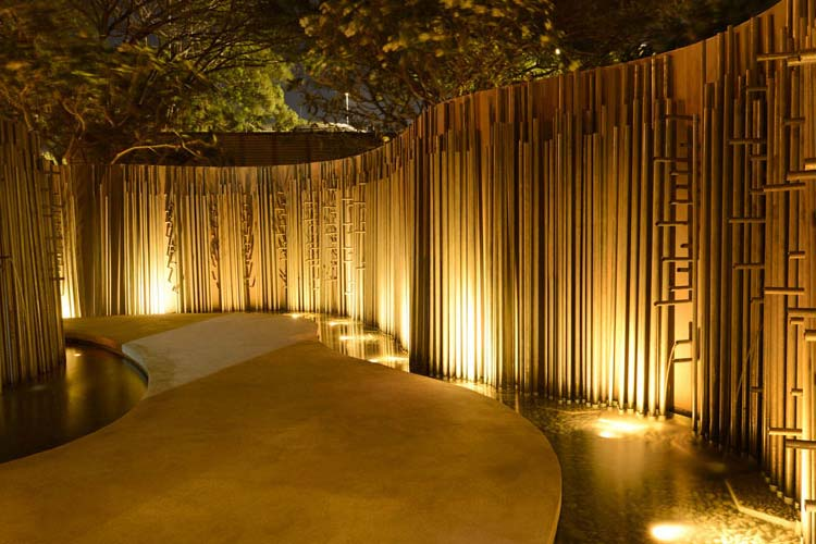 Entrance: Water Feature - The Balé - Nusa Dua