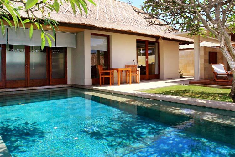Single Pavilion - View of Private Pool - The Balé - Nusa Dua