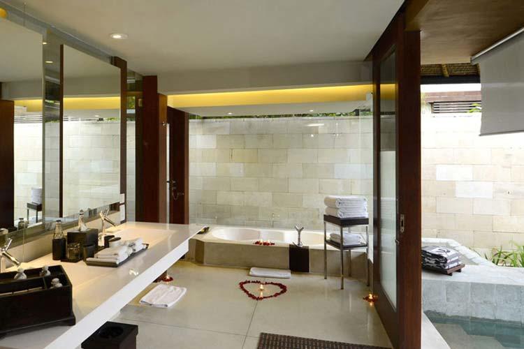 Single Pavilion Bathroom Area - The Balé - Nusa Dua