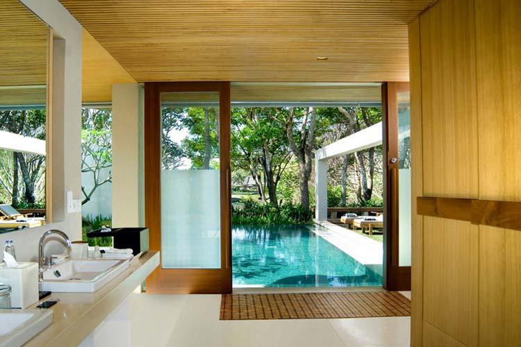 Deluxe Single Pavilion Bathroom - The Balé - Nusa Dua