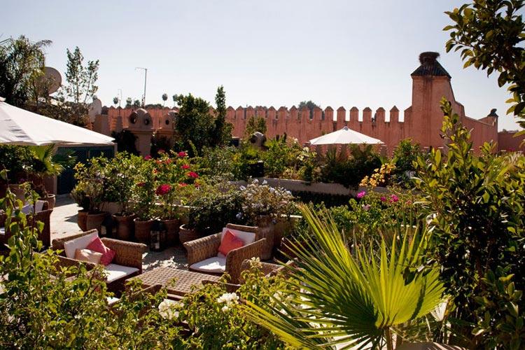 Terrace - Dar Les Cigognes - Marrakech
