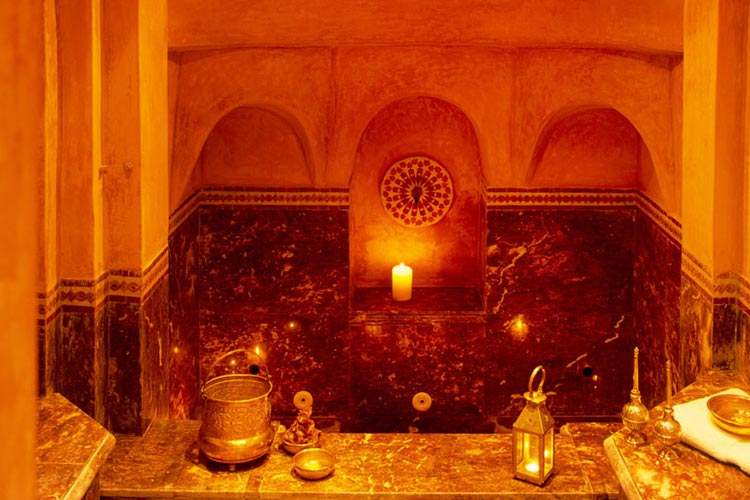 Traditional Hammam - Dar Les Cigognes - Marrakech