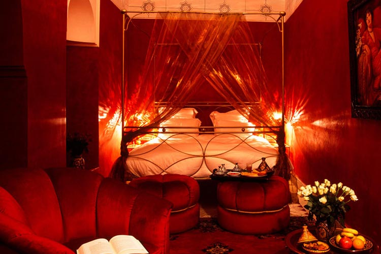 Deluxe Room - Dar Les Cigognes - Marrakech