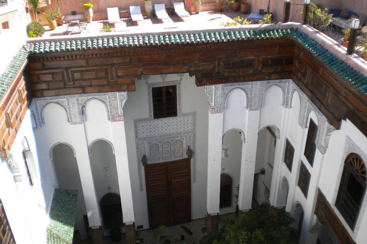 Courtyard - Riad Laaroussa - Fes