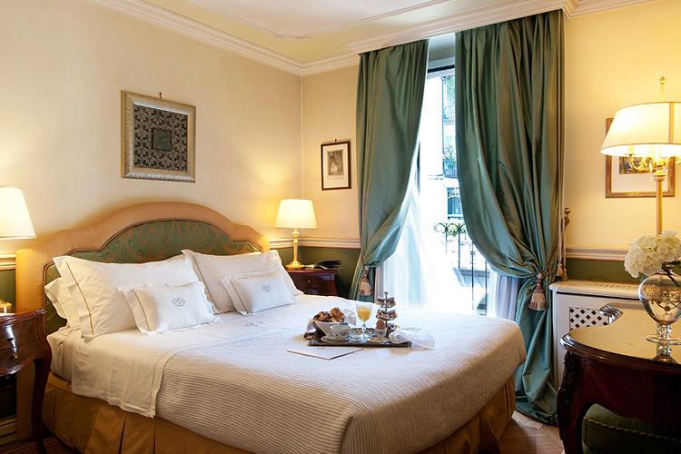 petit palais hotel de charme ein boutiquehotel in mailand. Black Bedroom Furniture Sets. Home Design Ideas