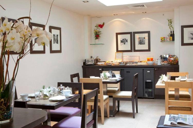 Breakfast Room - Hotel Duret - Paris