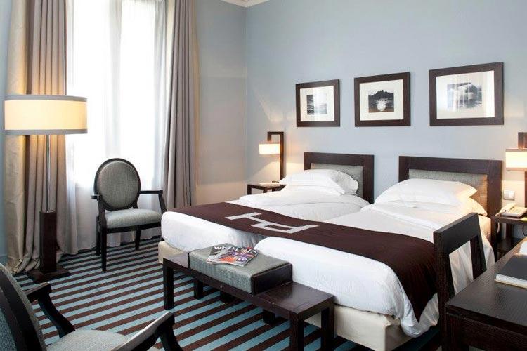 Twin Deluxe Room - Hotel Duret - Paris