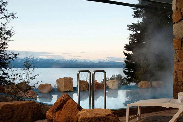 Heated Pool - Design Suites Bariloche - San Carlos de Bariloche