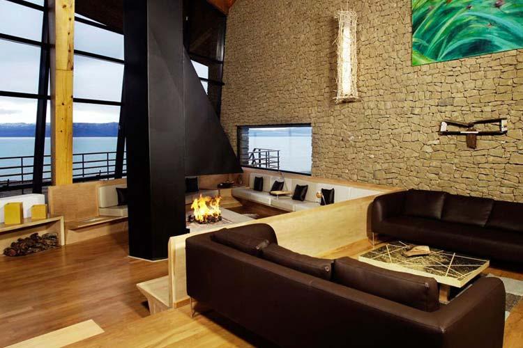 Fireplace - Design Suites Calafate - El Calafate