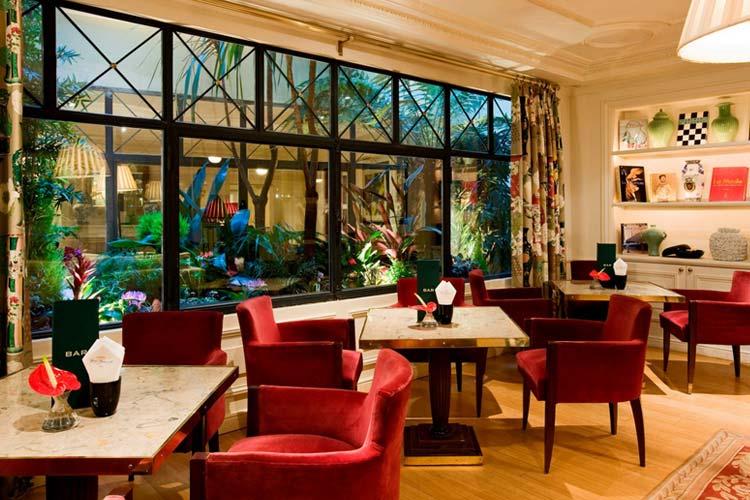 Lounge Bar - Hotel François 1er - Paris